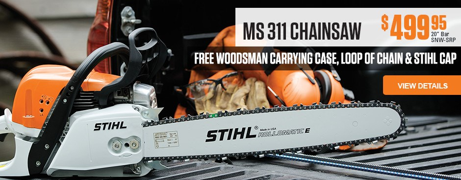 Special Offer with MS 311 Chainsaw purchase